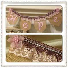HOPE banner by Thebannergirls on Etsy, $30.00