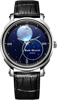 Emile Chouriet Moonphase Watch Perfect for us :)