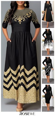 for dances, for school, - - for dances, for scho 60 Fashion, Women's Fashion Dresses, Casual Dresses, Casual Outfits, Womens Fashion, Maxi Outfits, African Fashion, Pretty Outfits, Beautiful Outfits