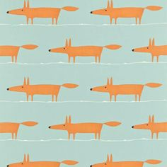 Buy Scion Original Large Fox Print from our Dress Fabrics & Fat Quarters range at John Lewis & Partners. Wallpaper Direct, Of Wallpaper, 30 Tag, Friendly Fox, Mr Fox, Modern Vintage Fashion, Fox Print, Scion, Curtains With Blinds