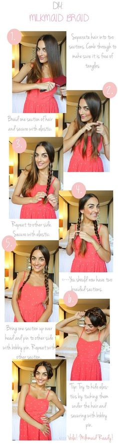 Photo: 8 Cool Braid Tutorials From Pinterest That Will Actually Teach You How To Plait   Bustle