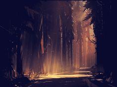 — screenshotdaily:   Random forest scenes ...
