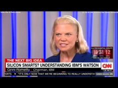 Full interview with Ginni Rometty, Chairman, CEO And President of IBM. #IBM