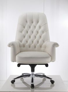 "NEW White ""Grandoli"" Office Chair French Provincial European Designed 