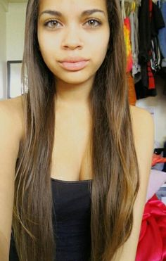 When my hair grows I hope it looks like this straightened