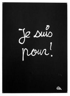 βℓαᏣƙ Ɓαcкgяσυη∂ (Benjamin Vautier) Words Quotes, Sayings, Some Words, Positive Affirmations, Learn French, Beautiful Words, Sentences, Favorite Quotes, Thats Not My