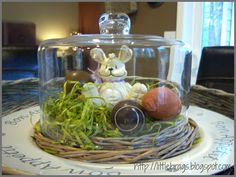 Little Brags: Some Easter touches & some self doubt
