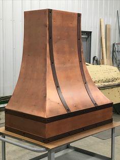 Copper range hood www.arlel.ca