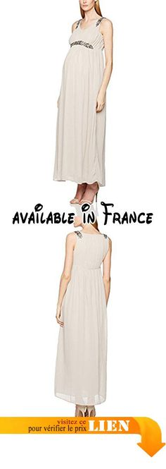 B01NCA6IGP : MAMALICIOUS Mlvinnie S/l Woven Maxi Robe de Maternité Femme Rose (Ashes of Roses) 38 (Taille Fabricant: Medium).