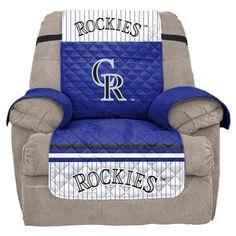 MLB Colorado Rockies Recliner Slipcover