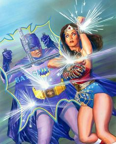 Batman 66 Encontra  Mulher Maravilha 77 Na incrível arte de Alex Ross  Regrann from @thealexrossart -  #batman66  #wonderwoman77special  Cross over cover. @lyndacarterfanpage  #newyorkcomiccon  #1966 #AdanWest #JusticeLeague  #BATMAN #BenAffleck *** #JamesGordon #ComissarioGordon #Gordon #HenryCavill #Superman  #TheDarkKnight #GalGadot #WonderWoman #JasonMomoa #Aquaman #RayFisher #Cyborg #EzraMiller #Flash #DCExtendedUniverse #DCCinematicUniverse #WarnerBros  #BatmanvSuperman #JLA…