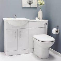 Family Bathroom Ideas - Cornwall blue grey - my colour