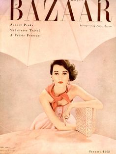 Harper's Bazaar, 1951  Dovima photographed by Richard Avedon