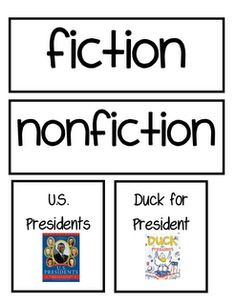 sorting fiction and nonfiction
