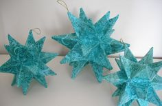 paper stars for hanging