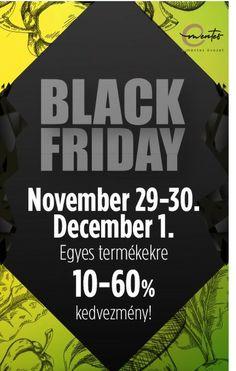 Black Weekend az E-mentes övezeten! Csak 2019.11.29-12.01-ig, vagyis péntektől vasárnapig élnek a visszautasíthatatlanul kedvezményes árak, ki ne hagyja!