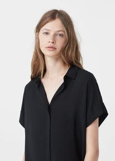 Flowy shirt - Shirts for Woman | MANGO USA