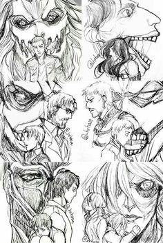 Galliard | Pieck | Zeke | Reiner | Bertholdt | Annie | Shingeki no Kyojin |  Attack on titan | SNK | Marley