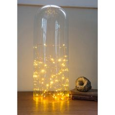 Tiny Twinklings String Lights (€22) ❤ liked on Polyvore featuring home, lighting, varies, battery operated string lights, vintage lamps, battery operated party lights, battery operated lights and battery fairy lights