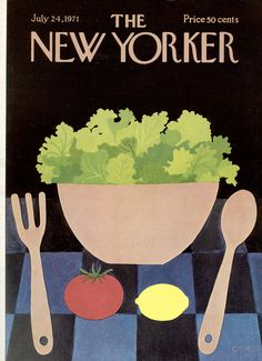 The New Yorker - Saturday, July 24, 1971 - Issue # 2423 - Vol. 47 - N° 23 - Cover by : Charles E. Martin