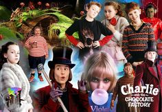 Charlie and the Chocolate factory Tim Burton Project