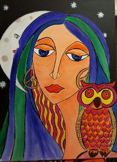Noctambula.acrilyc on canvas