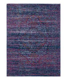 Love this Harput Purple Stripe Indoor Rug on #zulily! #zulilyfinds