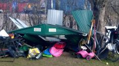 Lönntorp i Dalsvik -: Nytt skjul sommaren 2015