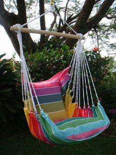 Hangstoel Joli Small : Rainbow Hangmatten en Hangstoelen, Online kopen hangmat 2013, hangstoel, babyhangmatten, klamboe, muskietennet