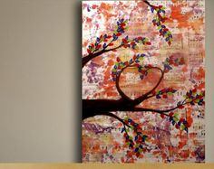 tree and music painting - Google Search