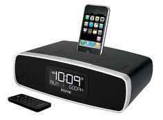 IP90 Radiosveglia con doppio allarme per iPhone e iPod | electromania.co --> prezzo 80.90€ #passalaparola