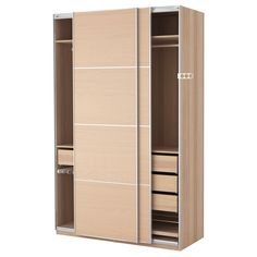 Terrific Sliding Door Cabinet With 3 Drawers Inside And Rail Cloth Hanger As Inspiring Wardrobe Closet Organizers Ikea Cabinets Designs
