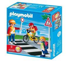 PLAYMOBIL 4328 - Agent de sécurité et écoliers