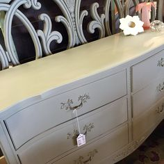 Traditional bedroom suite painted with a beautiful neutral color chaulk paint Traditional Bedroom, Bookcases, Dressers, Neutral Colors, Cabinets, Paint, Storage, Furniture, Beautiful