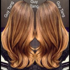 Cascading smooth-blending colors by Guy Tang #balayage #ombre #babylights #sombre