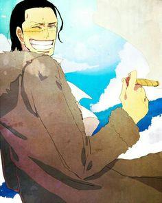 Sir Crocodile is so happy. One Piece Meme, One Piece Fanart, One Piece Pictures, One Piece Images, One Piece Drawing, One Piece Manga, Zoro, Sir Crocodile, Attack On Titan Art