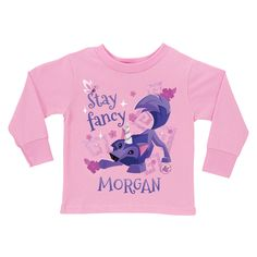 Animal Jam Stay Fancy Pink Long Sleeve Tee - T-Shirts - Clothing | Tv's Toy Box