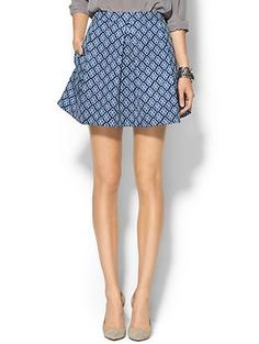 Piperlime Collection Printed Ponte Skirt | Piperlime