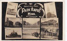 RP: PARK RAPIDS , Minnesota , 00-10s : 8-view postcard