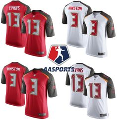 4213c477ae9b9 Camisa Tampa Bay Buccaneers - 3 Jameis Winston - 13 Mike Evans