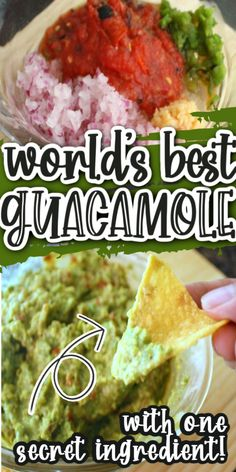 Hands down the best guacamole recipe the technique and ingredients are perfect via @raegun