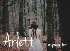 Arlett - unique baby girl name!