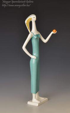 Lany, Retro Art, Modernism, Clay Art, Sculptures, Art Deco, Pottery, Apple, Artist
