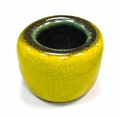 """Georges Jouve (1910-1964) Vase """"galet"""" (circa 1954) H. 8 cm, Ø 11 cm."""