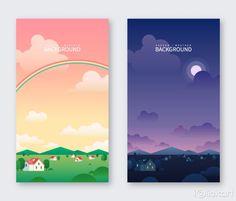 App Ui Design, Flat Design, Creative Illustration, Digital Illustration, Web Layout, Layout Design, App Background, Korean Art, Graphic Design Inspiration