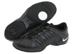 Nike Dance shoe in Black. These are what I often wear to teach Zumba, pivot circle is essential!