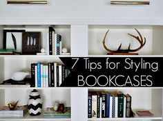 7 Tips on How to Style a Bookcase