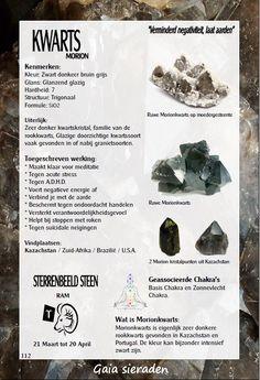 Morion kwarts - uitleg en werking edelstenen - Gaia Sieraden