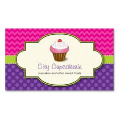 Cupcake Shop Business Card