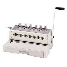 #Tamerica Durabind TCC242 19-Ring Plastic Comb Binding Machine from ABC Office